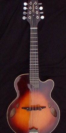 M1 mandolin back with tobaccoburst finish